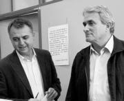 ABC  Roque Moreno y Antonio Amorós, en una imagen de archivo