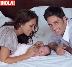 David Bustamante Y Paula Echevarría Presentan A Su Hija Daniela