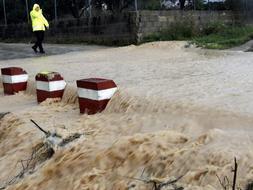 La Comunidad Valencia es una de las zonas más afectadas por el temporal. /Efe