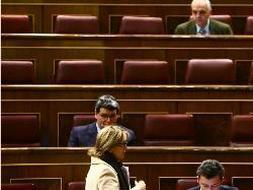 Sólo 70 de los 350 diputados estaban en su escaño. /Europa Press