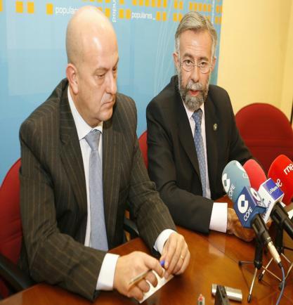 El PP critica que la Diputación sea «una sucursal» del Ayuntamiento y la Junta