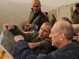 Olmert y el ministro de Defensa Ehud Barak decidió la semana pasada para aprobar una operación de Gaza./ Archivo