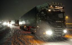 Las provincias de Burgos, Segovia y Soria mantienen la alerta por nevadas