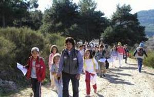 La Diputación ofrece nuevas rutas de senderismo para los escolares