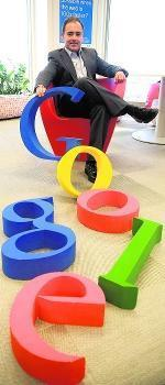 Javier Rodríguez, director de Google España: «Los negocios on line sufren menos la crisis»