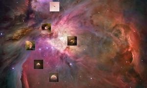 El Hubble capta el impresionante nacimiento de planetas en Orión