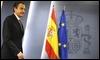 Rodríguez Zapatero, en Moncloa / AFP