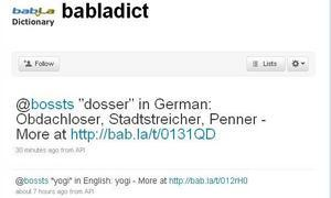 ¿Cómo se dice... en la lengua de Twitter?