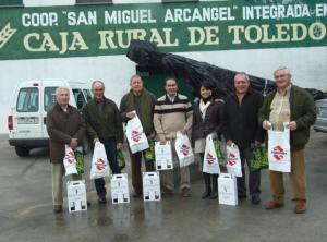 Cata anual de los caldos en la cooperativa San Miguel Arcángel de Montearagón
