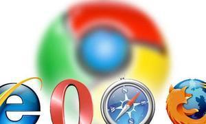 Chrome, el único navegador que sube