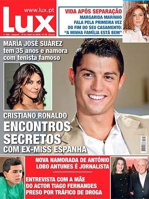 «Encuentros secretos» entre María José Suárez y Cristiano Ronaldo