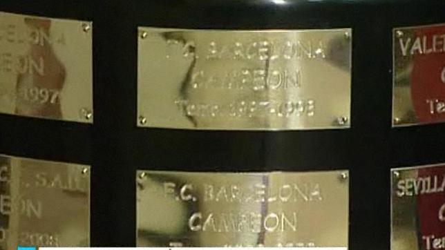 Tipografía infantil para el ganador de la Copa del Rey