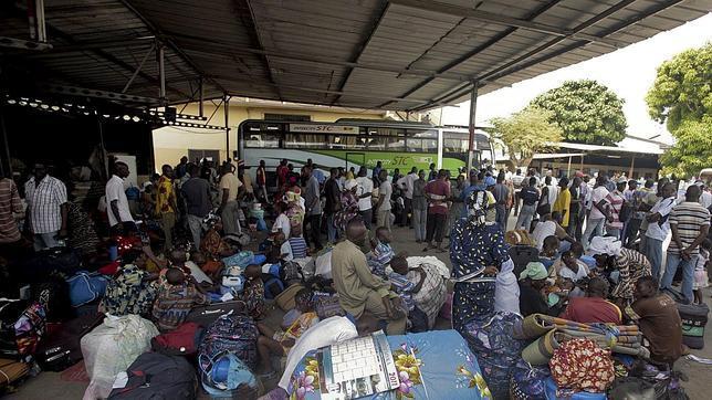 Las tropas francesas se despliegan en Costa de Marfil