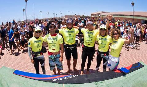 Köster y Daida Ruano ganan en el Gran Canaria PWA Waves