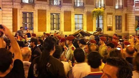 El Cristo de la Buena Muerte recorre Madrid