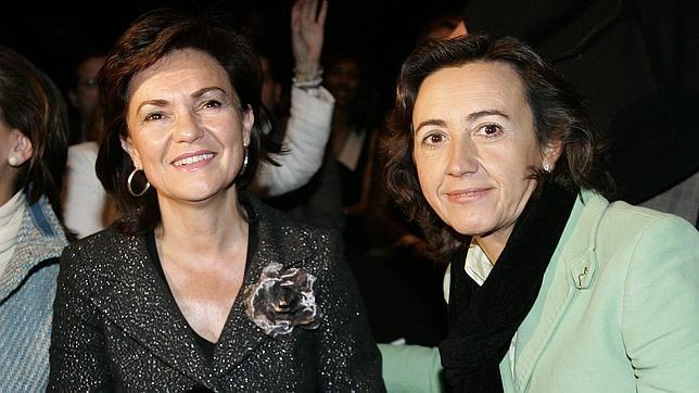 Carmen Calvo se niega a ir en la lista electoral del PSOE con Rosa Aguilar