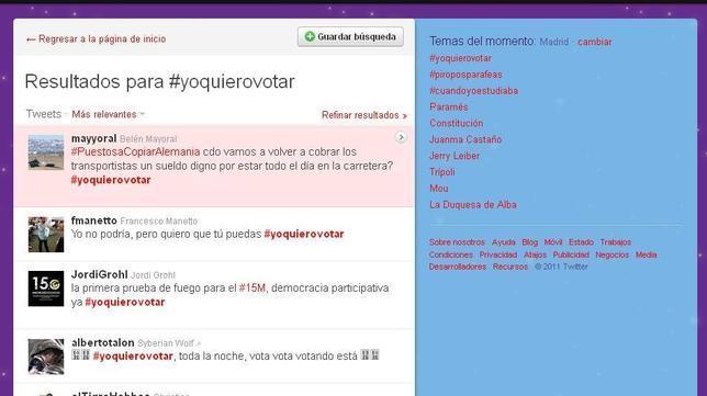 Las redes sociales se movilizan para pedir el referéndum constitucional