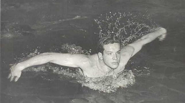 El día que Bud Spencer fue campeón de Italia de natación