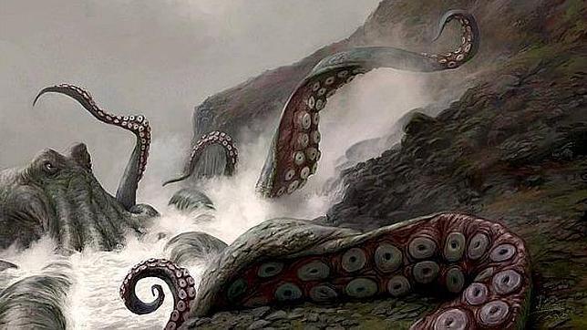 Hallan la madriguera de un descomunal «kraken» prehistórico
