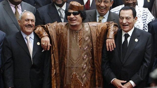 Gadafi, tercera víctima de la llamada primavera árabe