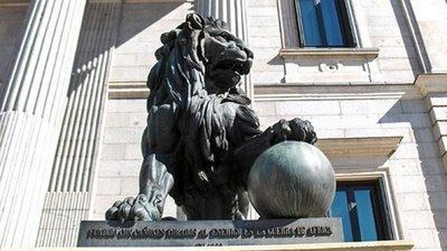 La curiosa historia de los leones del Congreso