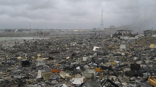 La basura electrónica de países ricos causa gran contaminación en los pobres