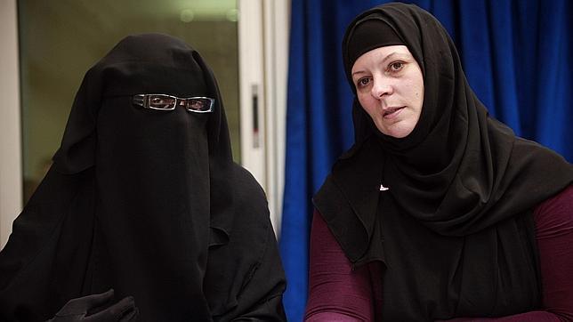 La cuñada de Blair y la viuda del terrorista