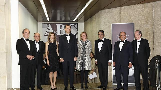Don Felipe ensalza «el valor del buen periodismo»