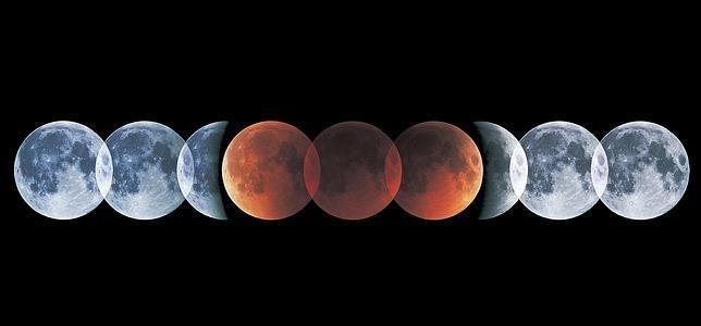 Cómo seguir en directo el eclipse de la Luna roja (aunque no se vea en España)