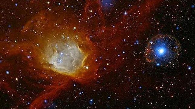 Una burbuja celestial intriga a los astrónomos