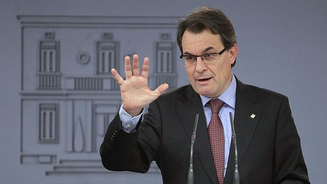 Mas avisa a Rajoy: «Si el pacto fiscal no es posible cada uno tendrá que tomar sus caminos y derroteros»