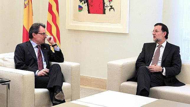 Mas cree que «Rajoy no es Aznar» y no llevará al límite la tensión con Cataluña