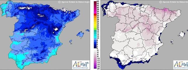 La semana empieza con mucho frío en toda España
