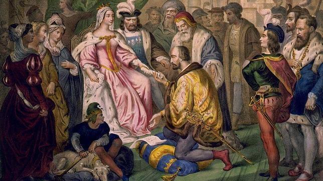 La carta de amor de Colón a Isabel la Católica
