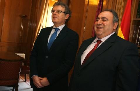 Collado y Marín «ajustan» la financiación de la UCLM
