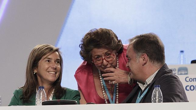Génova trata de encajar a Barberá en el proyecto político de Fabra