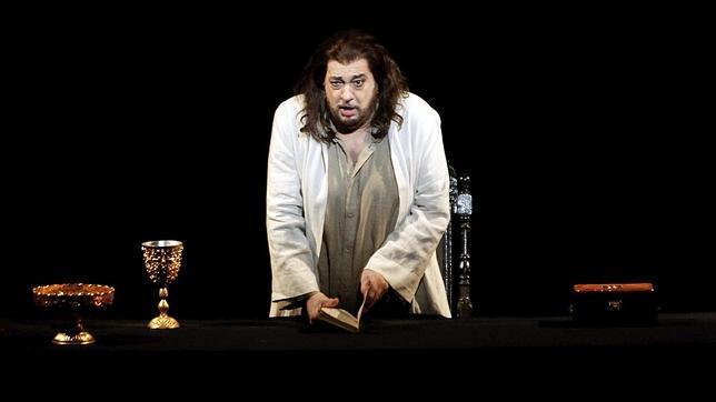 Domingo estrena en Valencia, en «Thaïs» de Massenet, otro papel de barítono