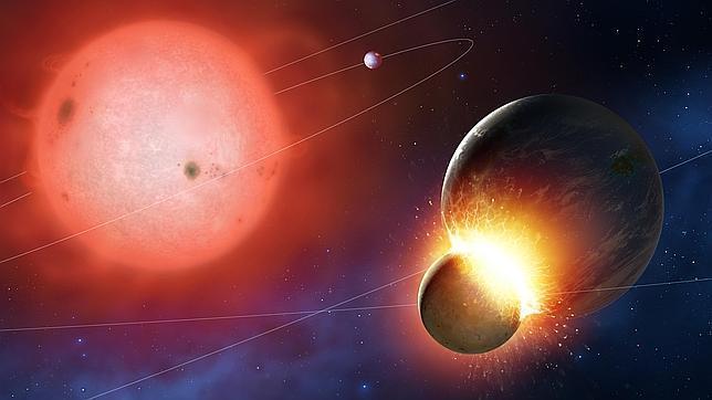 Soles moribundos devoran planetas «como la Tierra»