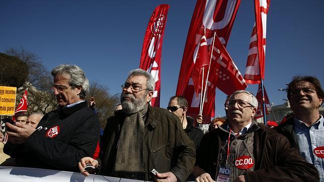 Trabajadores de UGT-Madrid, convocados a un paro contra el ERE a 36 compañeros del sindicato