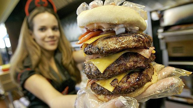 ¿Son sanas las hamburguesas «gourmet»?
