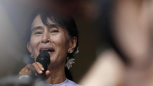 Histórica gira europea de la opositora birmana Aung San Suu Kyi