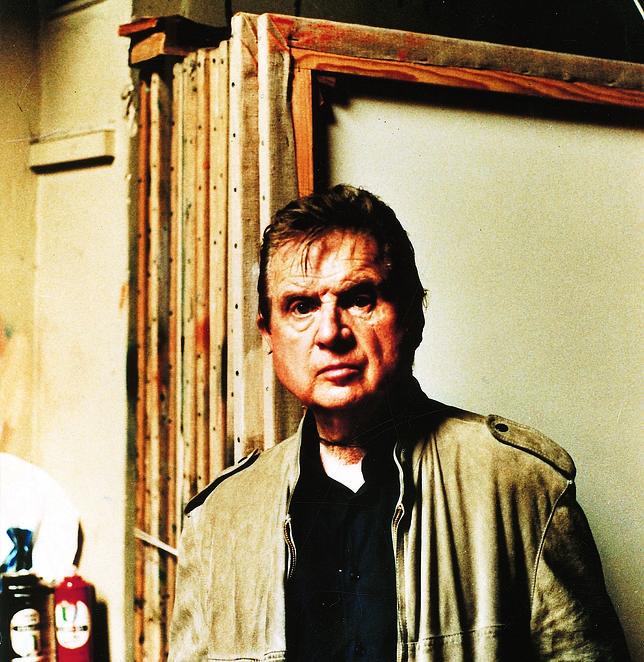 En el estudio con Francis Bacon