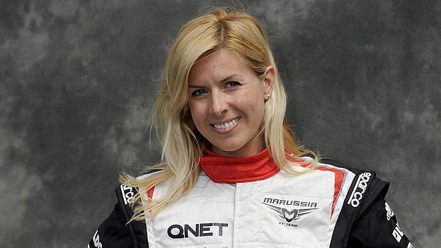 Alonso, tras el accidente de María de Villota: «¡Ánimo campeona!»