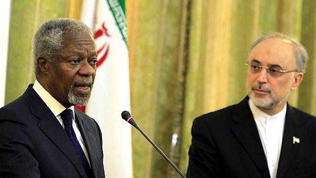 Irán ofrece ayuda a Annan en Siria pero advierte de que un error puede causar una catástrofe
