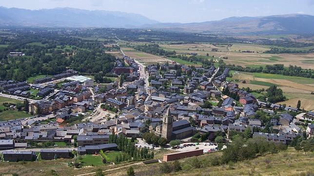 Una aldea española rodeada por galos y otros enclaves