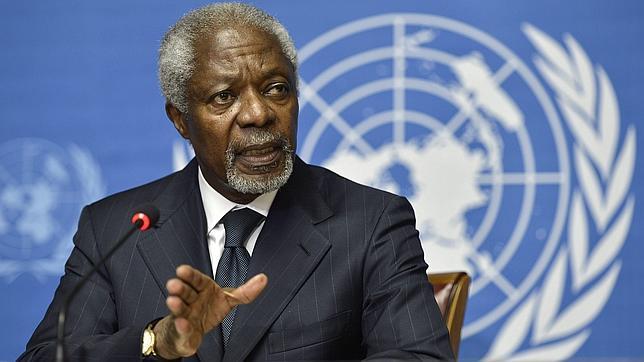 EE.UU. culpa a China y Rusia de la salida de Kofi Annan de Siria