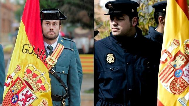 Guardia Civil y Policía Nacional, dos «uniformes» muy diferentes