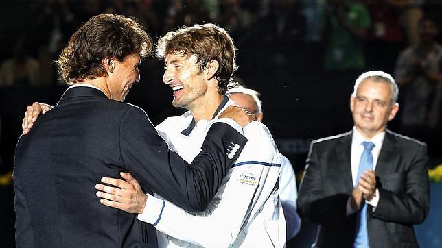 Nadal: «Ferrero nos marcó el camino»