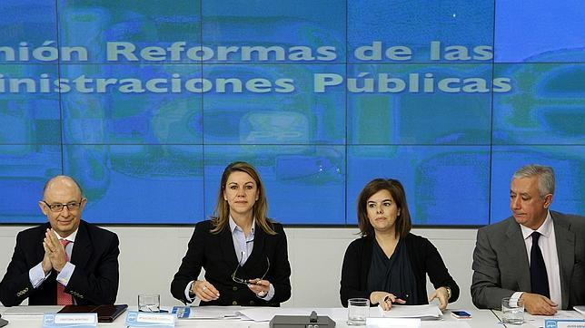 El PP reivindica un gran pacto de Estado para la reforma de la Administración Pública