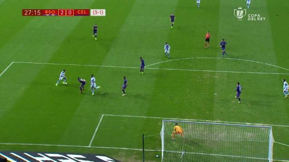 Copa del Rey: Resumen del Real Sociedad 2-0 Celta